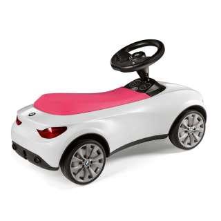 BMW guralica belo-roze