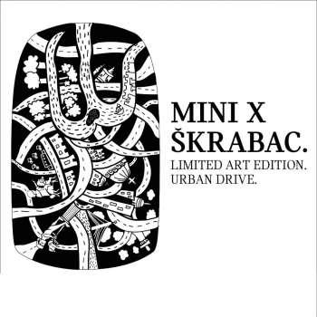 MINI X ŠKRABAC Urban drive stiker